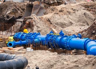 Wasserversorgungsnetze bei Rother & Partner
